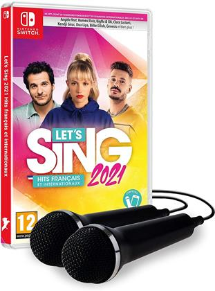 Let's Sing 2021 Hits français et internationaux + 2 Mics