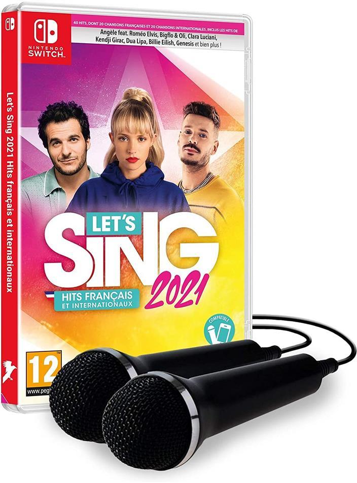 Let's Sing 2021 Hits français et internationaux + 2 Mics