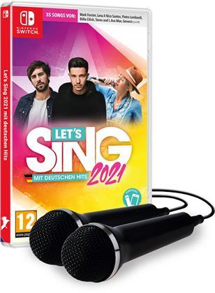 Let's Sing 2021 mit deutschen Hits [+ 2 Mics]