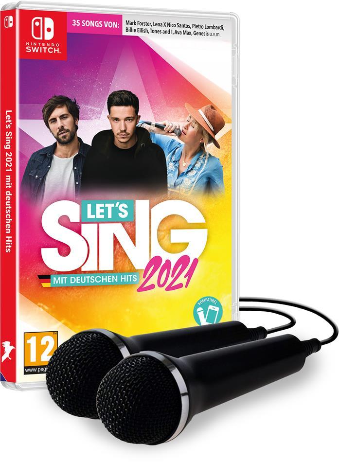 Let's Sing 2021 mit deutschen Hits + 2 Mics