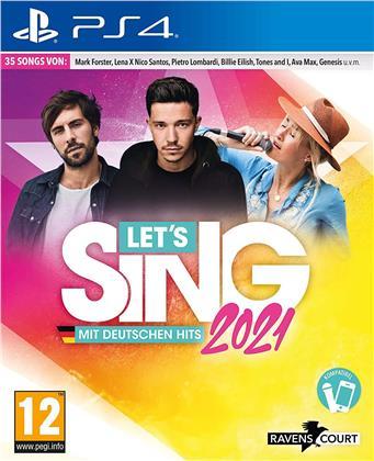 Let's Sing 2021 mit deutschen Hits