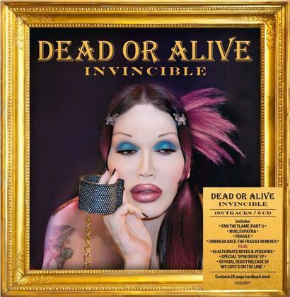 Dead Or Alive - Invincible (Boxset, 9 CDs)