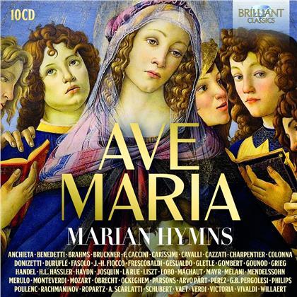 Ave Maria - Marian Hymns (10 CDs)