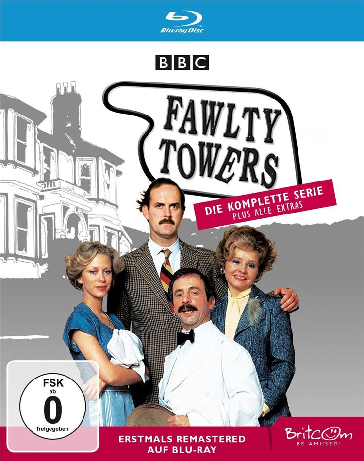 Fawlty Towers - Die komplette Serie (BBC, Versione Rimasterizzata, 2 Blu-ray)