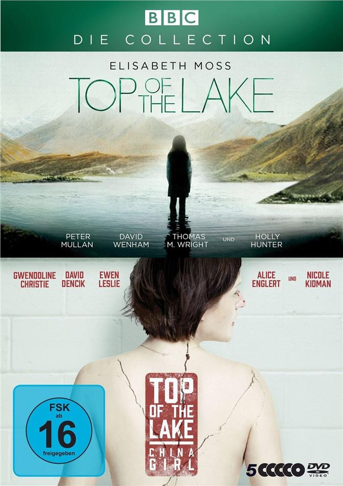 Top of the Lake / Top of the Lake: China Girl - Die Collection (BBC, 5 DVDs)