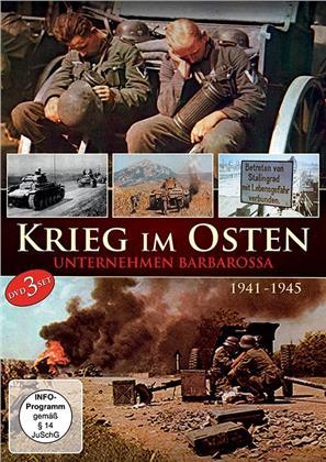 Krieg im Osten 1941-1945 - Unternehmen Barbarossa (3 DVDs)