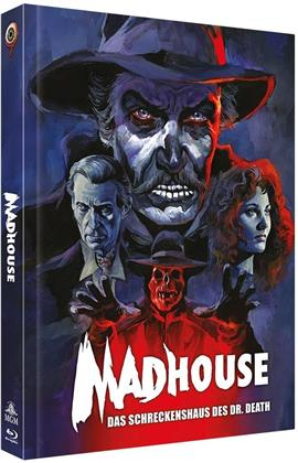 Madhouse - Das Schreckenshaus des Dr. Death (1974) (Cover C, Limited Collector's Edition, Mediabook, Blu-ray + DVD)