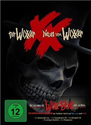 Der Wixxer / Neues vom Wixxer - Die ultimative WiXX-BoXX (Limited Edition, 4 Blu-rays + 2 DVDs + 4 CDs)
