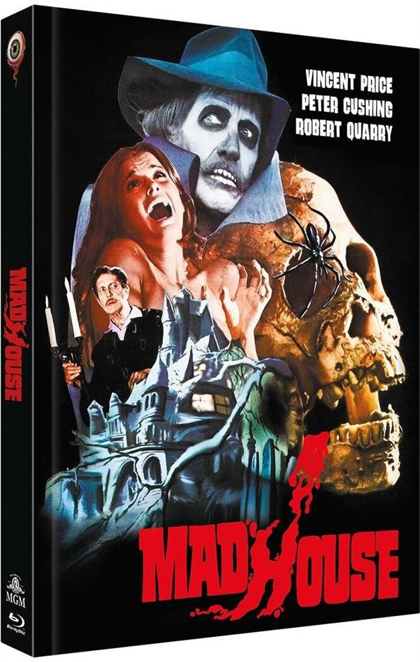 Madhouse - Das Schreckenshaus des Dr. Death (1974) (Cover A, Limited Collector's Edition, Mediabook, Blu-ray + DVD)