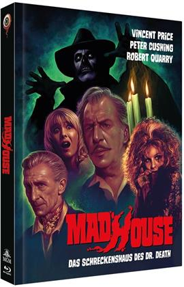 Madhouse - Das Schreckenshaus des Dr. Death (1974) (Cover B, Collector's Edition Limitata, Mediabook, Blu-ray + DVD)