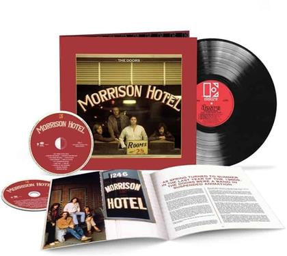 The Doors - Morrison Hotel (2020 Reissue, 50th Anniversary Edition, Deluxe Edition, LP + 2 CDs)