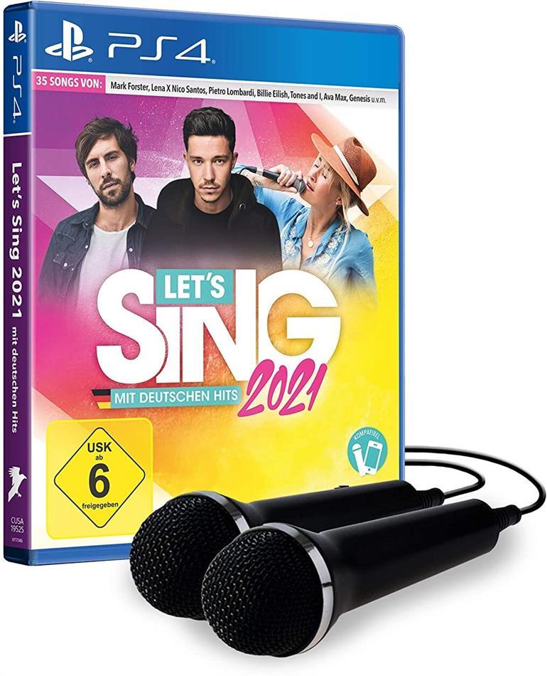 Let's Sing 2021 incl 2 Mics mit deutschen Hits (German Edition)