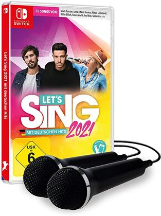 Let's Sing 2021 incl 2 Mics mit deutschen Hits (German Edition)