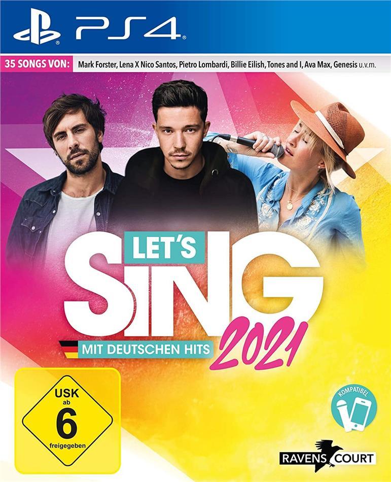 Let's Sing 2021 mit deutschen Hits (German Edition)