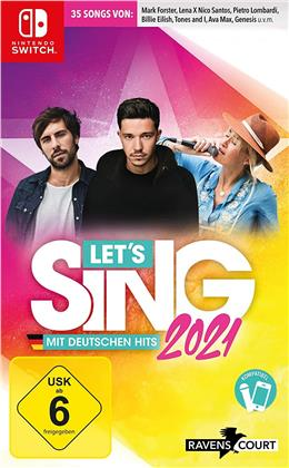 Let's Sing 2021 mit deutschen Hits (German Edition)