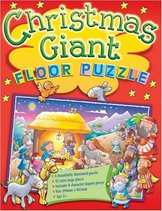 Christmas - Giant Floor Puzzle 32 Pieces