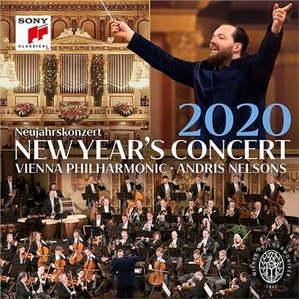 Andris Nelsons & Wiener Philharmoniker - Neujahrskonzert (Japan Edition, 2 CDs)