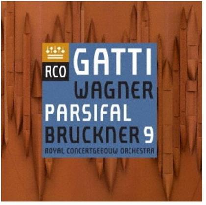 Anton Bruckner (1824-1896), Richard Wagner (1813-1883), Daniele Gatti & Royal Concertgebouw Orchestra - Symphony 9 / Parsifal (Japan Edition)
