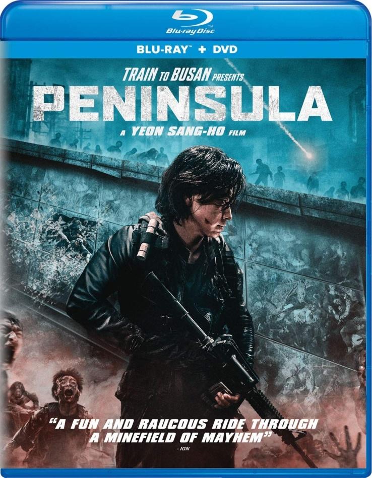 Peninsula (2020) (Blu-ray + DVD)