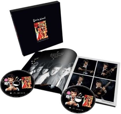 Ronnie Wood: Somebody Up There Likes Me (2019) (Limited Edition, Blu-ray + DVD)