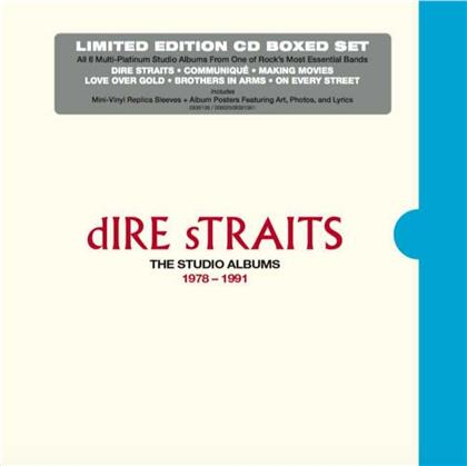 Dire Straits - The Studio Albums 1978 - 1991 (Limited Edition, 6 CDs)