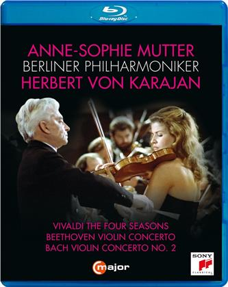 Anne-Sophie Mutter, Berliner Philharmoniker & Herbert von Karajan - Vivaldi The Four Seasons / Beethoven Violin Concerto / Bach Violin Concerto No. 2