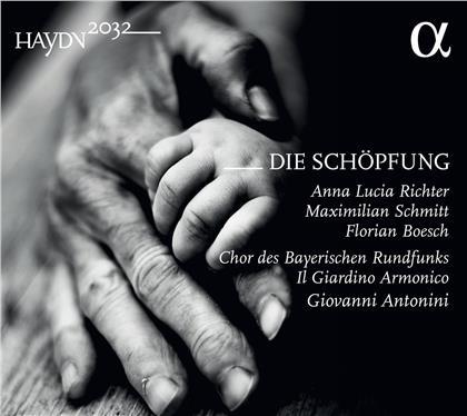 Anna Lucia Richter, Maximilian Schmitt, Florian Boesch, Joseph Haydn (1732-1809), Giovanni Antonini, … - Die Schöpfung