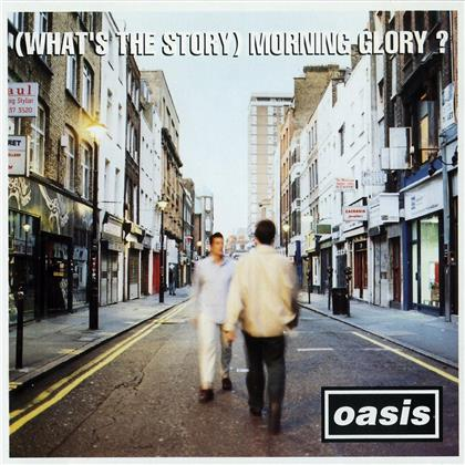 Oasis - (What's The Story) Morning Glory? (Limited, 2020 Reissue, Anniversary Edition, Silver Colored Vinyl, LP)