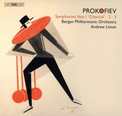 Bergen Philharmonic Orchestra, Serge Prokofieff (1891-1953) & Sir Andrew Litton - Symphonies 1, 2, 3 (Hybrid SACD)