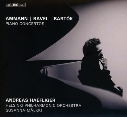 Dieter Ammann (*1962), Maurice Ravel (1875-1937), Béla Bartók (1881-1945), Susanna Mälkki, Andreas Haefliger, … - Piano Concertos (Hybrid SACD)