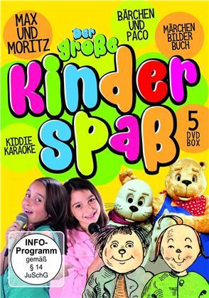 Der grosse Kinder Spass - Max und Moritz-Bärchen und Paco-Märchenbilderbuch (5 DVDs)