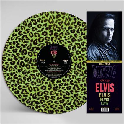 Danzig - Sings Elvis (Gree Leopard Picture Disc, LP)