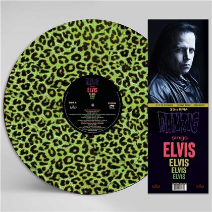 Danzig - Sings Elvis (Gree Leopard Picture Disc, LP)