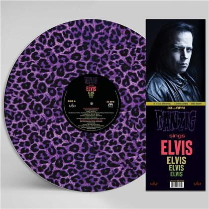 Danzig - Sings Elvis (Purple Leopard Picture Disc, LP)
