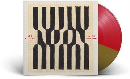 Leo Kottke & Mike Gordon - Noon (Red & Gold Vinyl, LP)