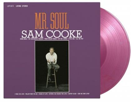 Sam Cooke - Mr Soul (2020 Reissue, Music On Vinyl, Limited Edition, Purple Vinyl, LP)