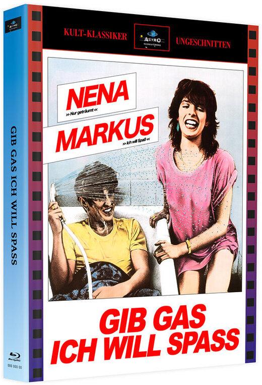 Gib Gas ich will Spass (1983) (Cover A, Kult-Klassiker Ungeschnitten, Limited Edition, Mediabook, 2 Blu-rays)