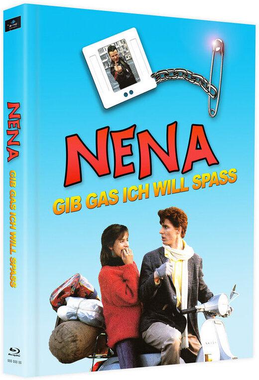 Nena - Gib Gas ich will Spass (1983) (Cover E, Limited Edition, Mediabook, 2 Blu-rays)