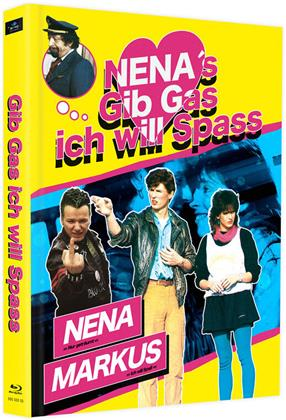 Gib Gas ich will Spass (1983) (Cover C, Limited Edition, Mediabook, 2 Blu-rays)
