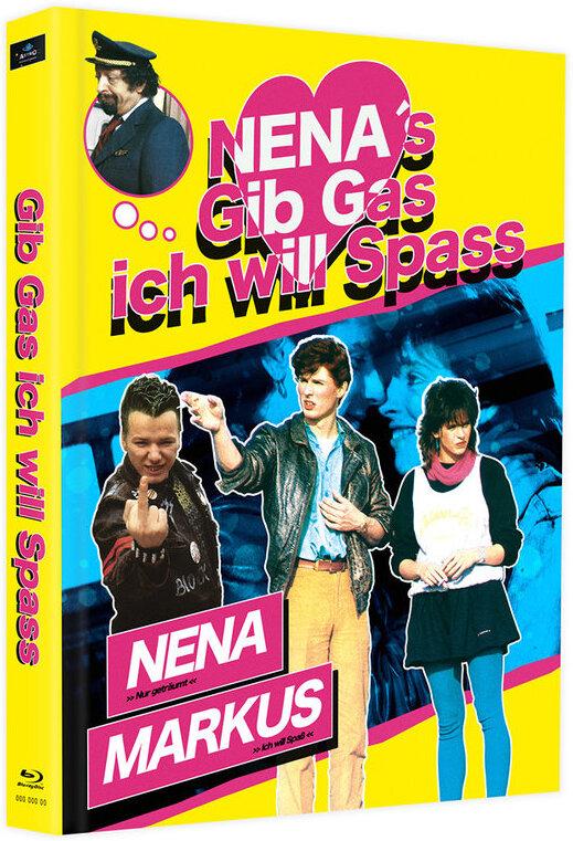 Gib Gas ich will Spass (1983) (Cover C, Limited Edition, Mediabook, 2 Blu-rays)