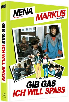 Gib Gas ich will Spass (1983) (Cover D, Edizione Limitata, Mediabook, 2 Blu-ray)