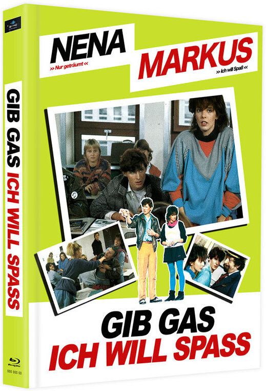 Gib Gas ich will Spass (1983) (Cover D, Limited Edition, Mediabook, 2 Blu-rays)
