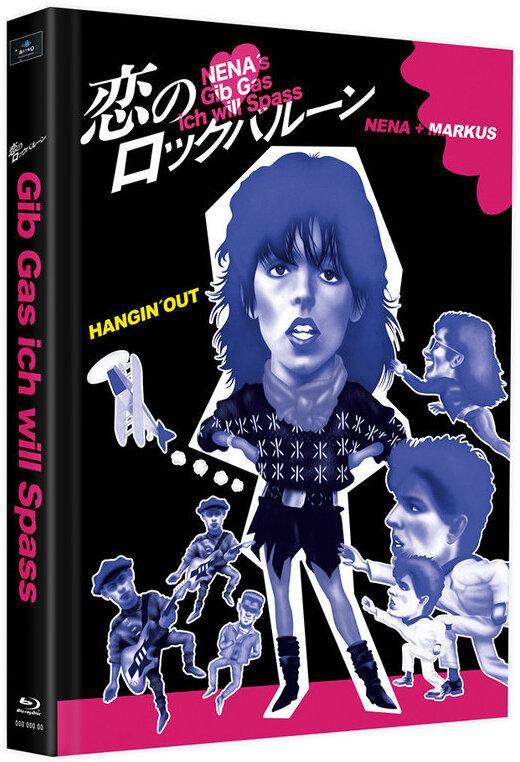 Gib Gas ich will Spass (1983) (Cover F, Limited Edition, Mediabook, 2 Blu-rays)