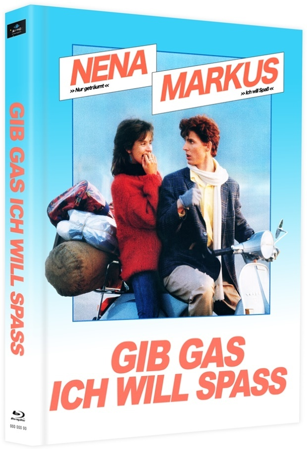 Gib Gas ich will Spass (1983) (Cover B, Limited Edition, Mediabook, 2 Blu-rays)