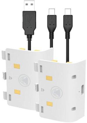 XBOX SERIES X - Battery:KIT SX white