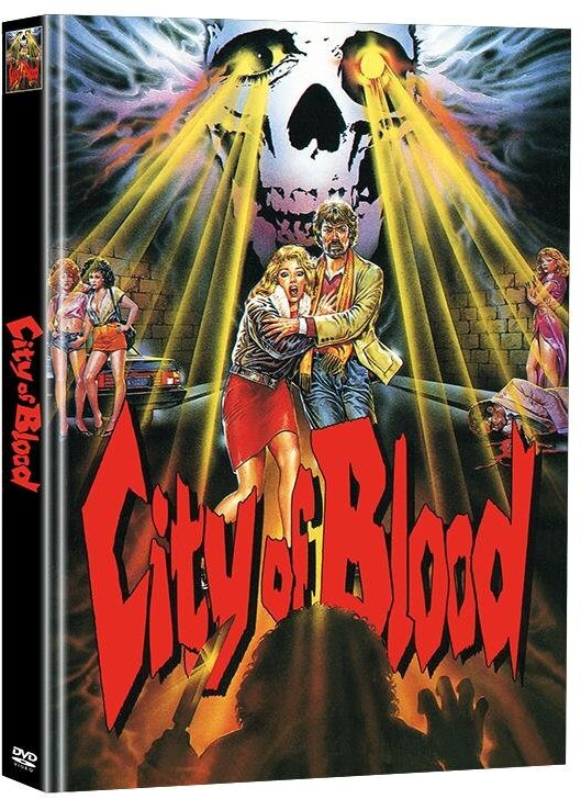 City of Blood (1987) (Super Spooky Stories, Limited Edition, Mediabook, 2 DVDs)
