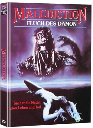 Malediction - Fluch des Dämon (1989) (Super Spooky Stories, Limited Edition, Mediabook, 2 DVDs)