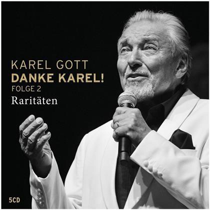 Karel Gott - Danke Karel! Folge 2 - Raritäten (5 CDs)