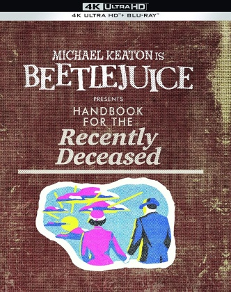 Beetlejuice - presents Handbook for the Recently Deceased (1988) (Édition Collector Limitée, 4K Ultra HD + Blu-ray)