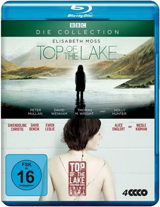 Top of the Lake / Top of the Lake: China Girl - Die Collection (BBC, 4 Blu-ray)